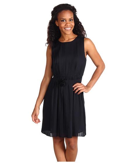 Rochii Anne Klein - Pleated Dress - Black