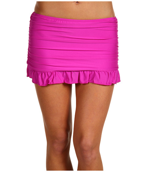 Special Vara Athena - Heavenly Rouched and Ruffled Skirted Pant - Purple