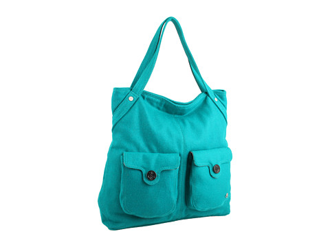 Genti de mana Nixon - Reach Out Satchel - Emerald