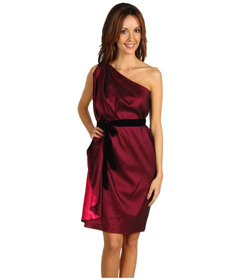 Rochii Badgley Mischka - One-Shoulder Mini Dress - Pink
