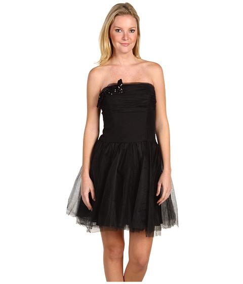 Rochii Badgley Mischka - Strapless Mini Dress - Black