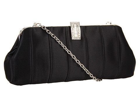 Posete Franchi Handbags - Brielle Silk - Black