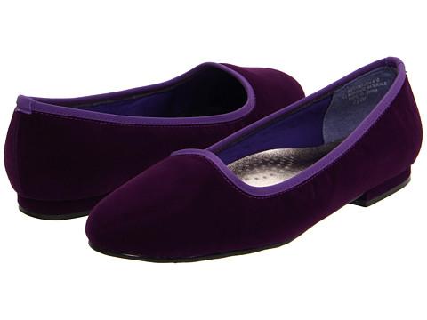 Balerini Annie - Tux - Purple Velvet Suede