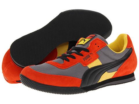Adidasi PUMA - Lab II FB - Quiet Shade/Black/Orange.com