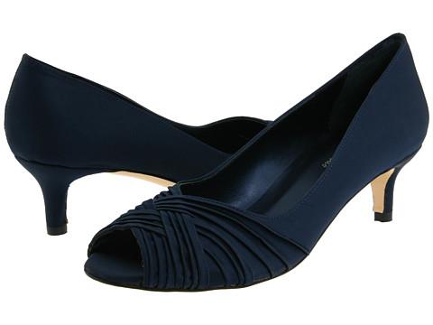 Pantofi Vaneli - Drimer - Navy Satin