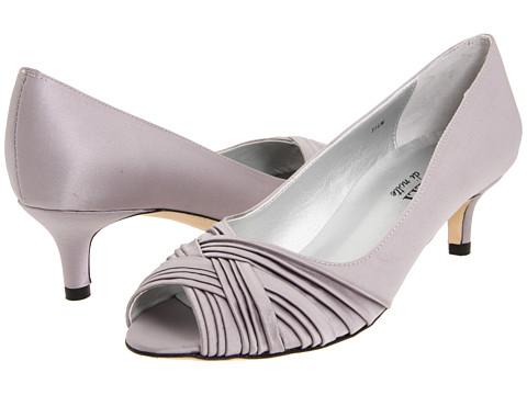 Pantofi Vaneli - Drimer - Silver Satin/Pale Silver