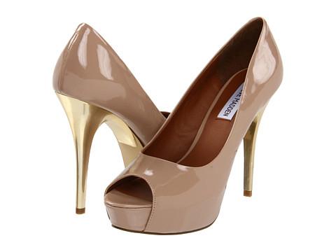 Pantofi Steve Madden - P-Jada - Taupe Patent