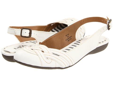 Balerini MIA - Patsy - White Wrinkle
