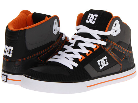 Adidasi DC - Spartan Hi WC SE - Orange/Black