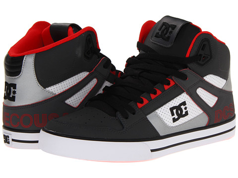 Adidasi DC - Spartan Hi WC SE - DK Shadow/White/Athletic Red