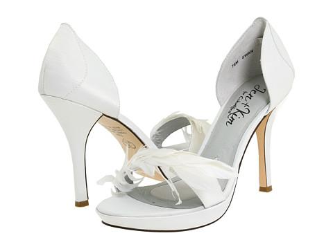 Pantofi Coloriffics - Swan - White