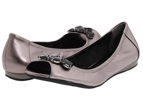 Balerini Cole Haan - Air Tali Open Toe Jewel Ballet - Gunsmoke
