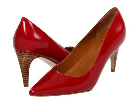 Pantofi Cole Haan - Air Juliana Pump 75 - Tango Red Patent