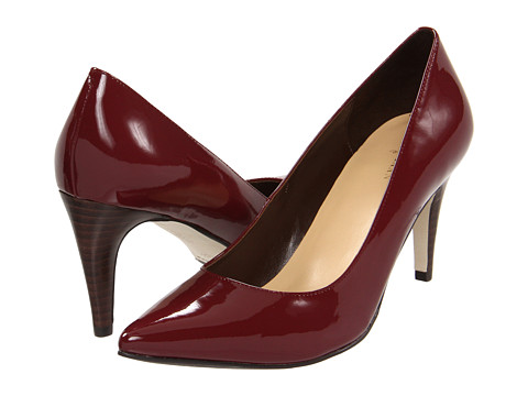 Pantofi Cole Haan - Air Juliana Pump 75 - Zinfandel Patent