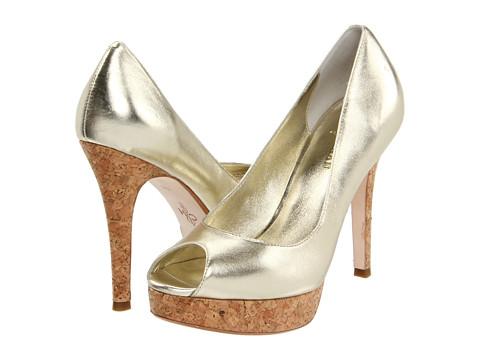 Pantofi Cole Haan - Mariela Air OT Pump - White Gold/Cork