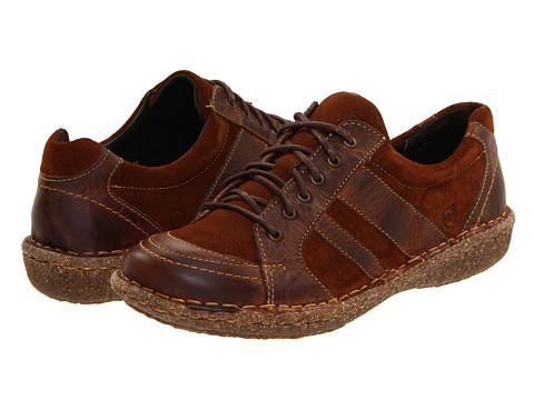 Pantofi Born - Melissa - Brown Suede