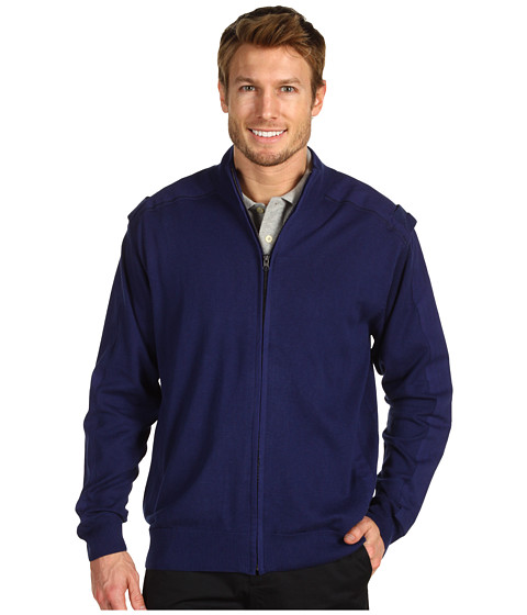 Jachete Fitzwell - George Full Zip Mock Jacket - Navy