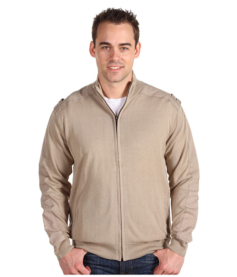 Jachete Fitzwell - George Full Zip Mock Jacket - Taupe