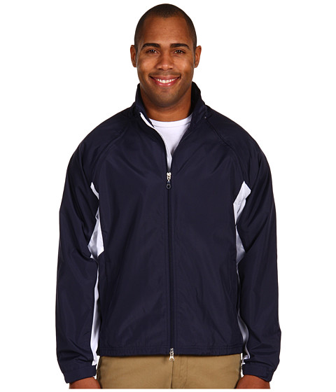 Jachete Fitzwell - Tad Convertible Wind Jacket - Navy/White