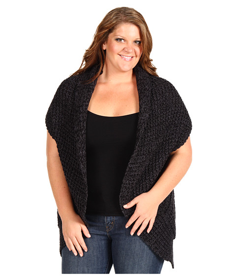 Pulovere DKNY - Plus Size Oversized Cocoon Sweater - Jet