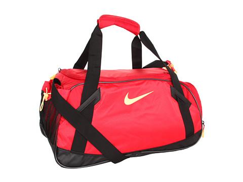 Genti de voiaj Nike - Varsity Girl Medium Duffel - Gym Red/Hyper Red/(Melon Tint)