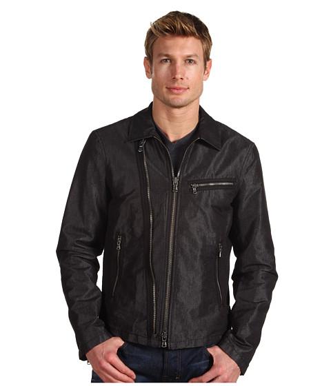 Jachete John Varvatos - Zip Front Biker Jacket - Carbon