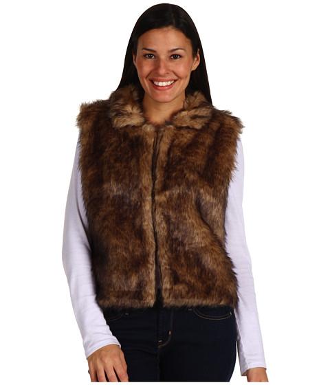 Jachete Echo Design - Faux Fur Vest - Camel