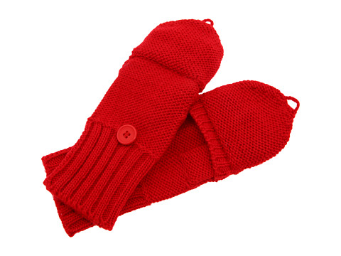 Manusi Echo Design - Solid Pop Top Gloves - Lacquer Red