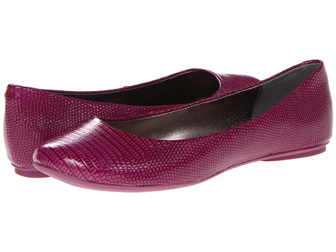 Balerini Kenneth Cole Reaction - Slip On By - Berry Lizard Patent