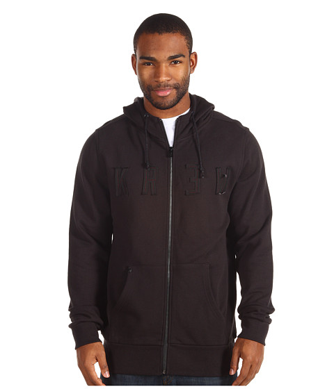 Bluze KR3W - Colfax Zip Hoodie - Black