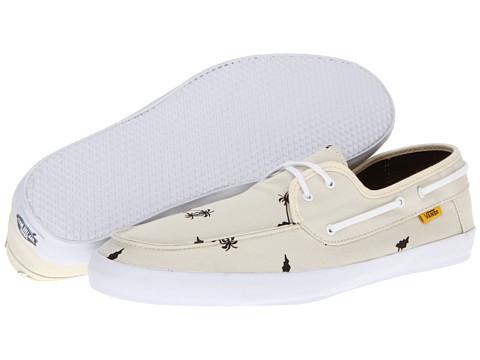 Adidasi Vans - Chauffeur - (Surf Palm) Antique White/Beluga
