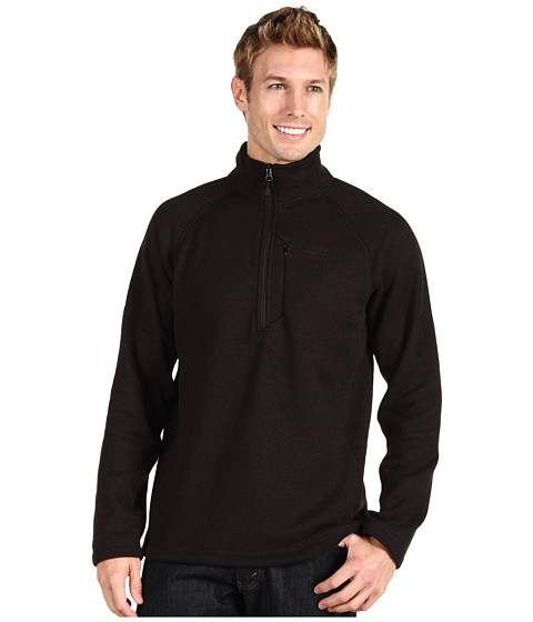 Pulovere The North Face - Gordon Lyons 1/4 Zip Pullover - TNF Black Heather