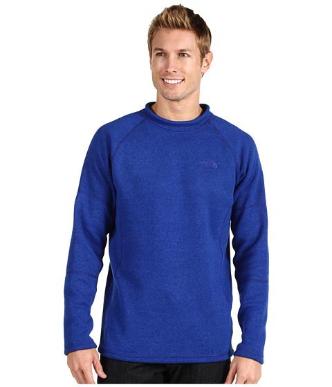 Bluze The North Face - Gordon Lyons Crew Neck L/S Shirt - Bolt Blue Heather