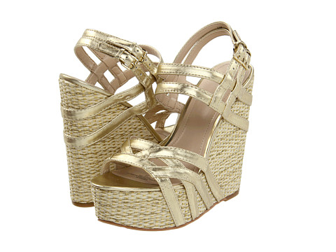 Sandale Nine West - Bardough - Gold Synthetic