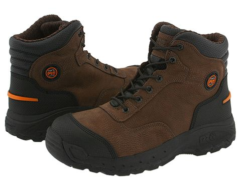 "Ghete Timberland - Endurance 6\"" TiTAN® XL Safety Toe - Brown"