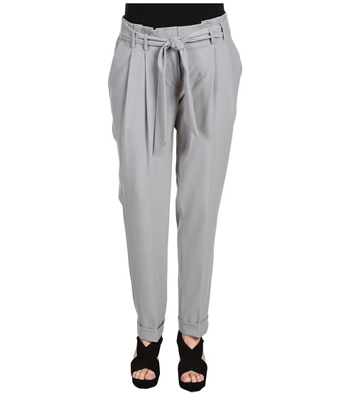Pantaloni Anne Klein - Slim Leg Pant - Light Charcoal Heather