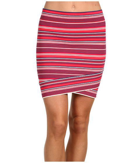 Fuste BCBGMAXAZRIA - Ivy Crisscross Power Skirt - Bright Poppy Multi
