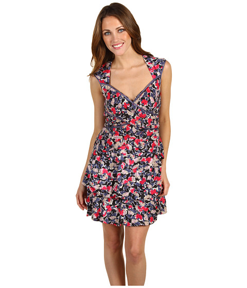 Rochii Jessica Simpson - Floral Open Back Dress - Multi