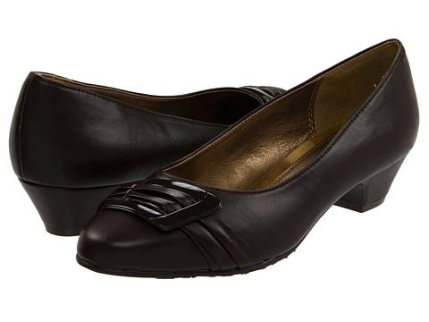 Pantofi Soft Style - Pleats Be With You - Dark Brown Vitello