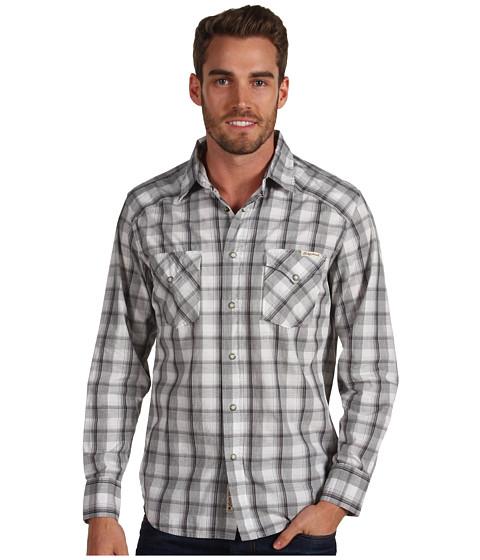 Bluze Lucky Brand - Trials Western Shirt - Grey Multi