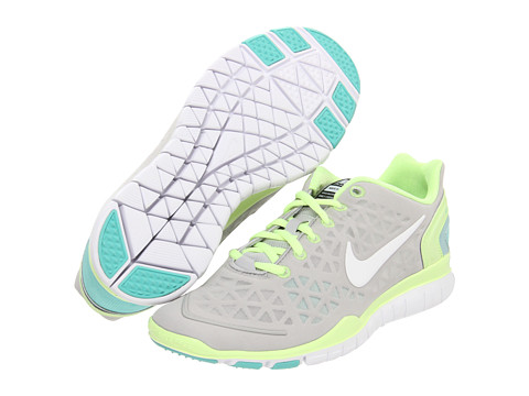 Adidasi Nike - Free TR Fit 2 - Neutral Grey/Liquid Lime/Julep/White