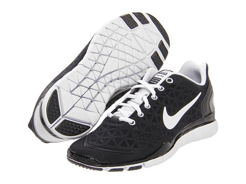 Adidasi Nike - Free TR Fit 2 - Black/Metallic Silver/White