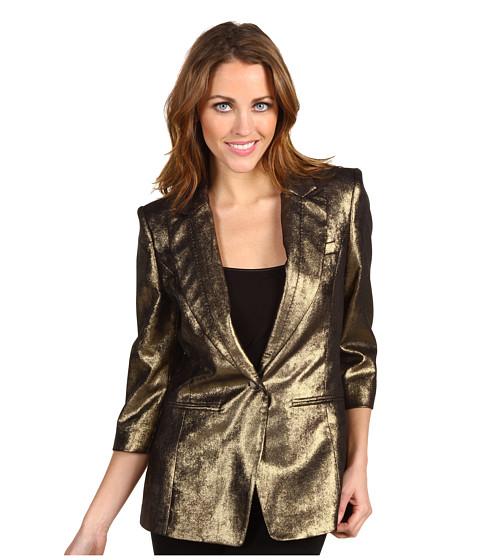 Sacouri Ted Baker - Furax Metallic Suit Blazer - Gold