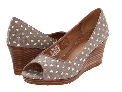 Pantofi Fossil - Sally Wedge - Taupe