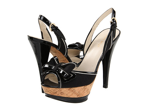 Sandale Nine West - Chameleon - Black/Multi Linen