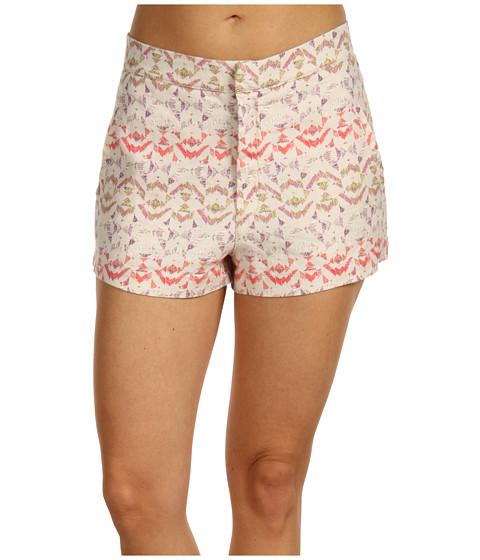 Pantaloni Free People - High Waist Printed Short - Chamomile