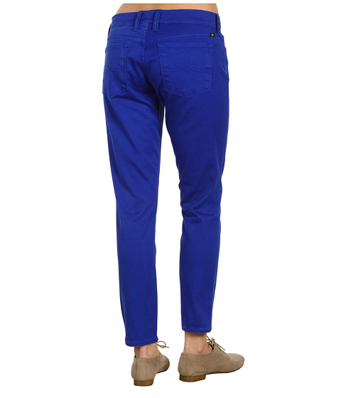 Blugi Lucky Brand - Colorful Charlie Capri in Surf Blue - Surf Blue