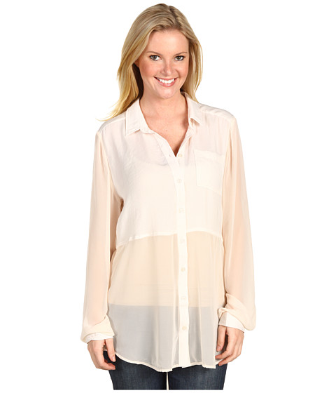 Camasi Free People - Best of Both Worlds Button Up - Shell