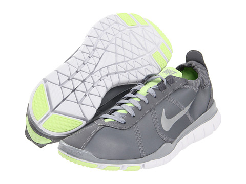 Adidasi Nike - Free TR Twist ST - Metallic Cool Grey/Liquid Lime/Wolf Grey/Metallic Silver