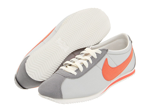 Adidasi Nike - Lady Cortez Nylon - Medium Grey/Sail/Neutral Grey/Melon Crush